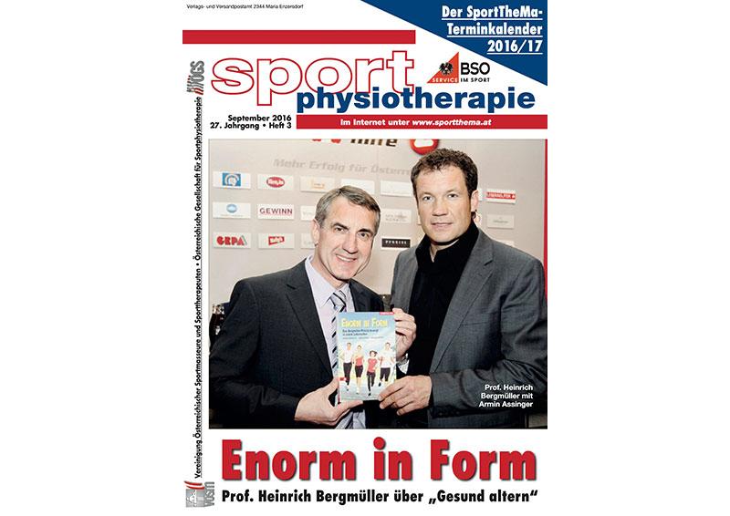 gesund alt werden - in Sport Physiotherapie 03/2106