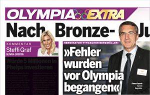 Artikel in Österreich - Fehler wurden vor Olympia begangen