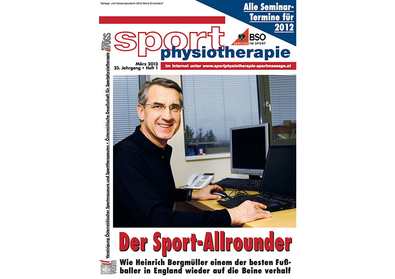 Sport Physiotherapie 01 2012