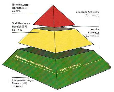 Trainingspyramide