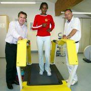Fitness Training Für Waris Dirie