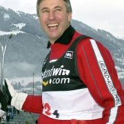 Leonhard Stock, Olympiasieger Abfahrt, Lake Placid