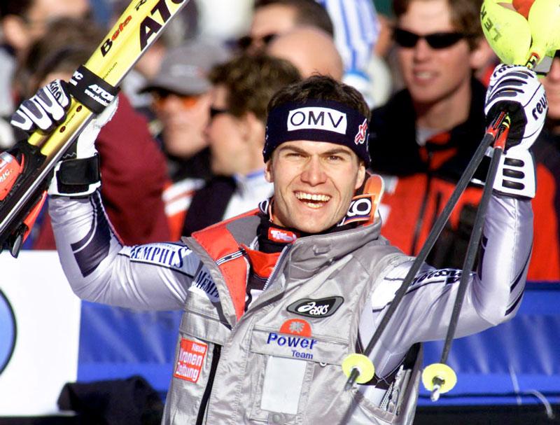 Heinz Schilchegger, Slalomweltcupsieg, Salt Lake City