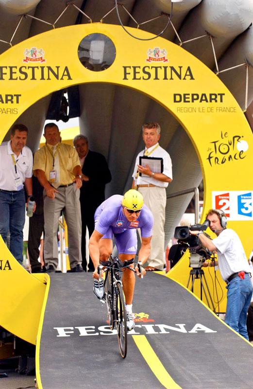 Hermann Maier, Tour De France, Einzelzeitfahren