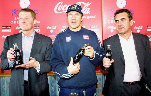 Präsentation Der Hermann Maier Coca Cola Edition