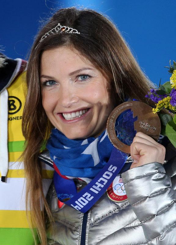 Julia Mancuso, Olympiasiegerin Riesenslalom, Turin