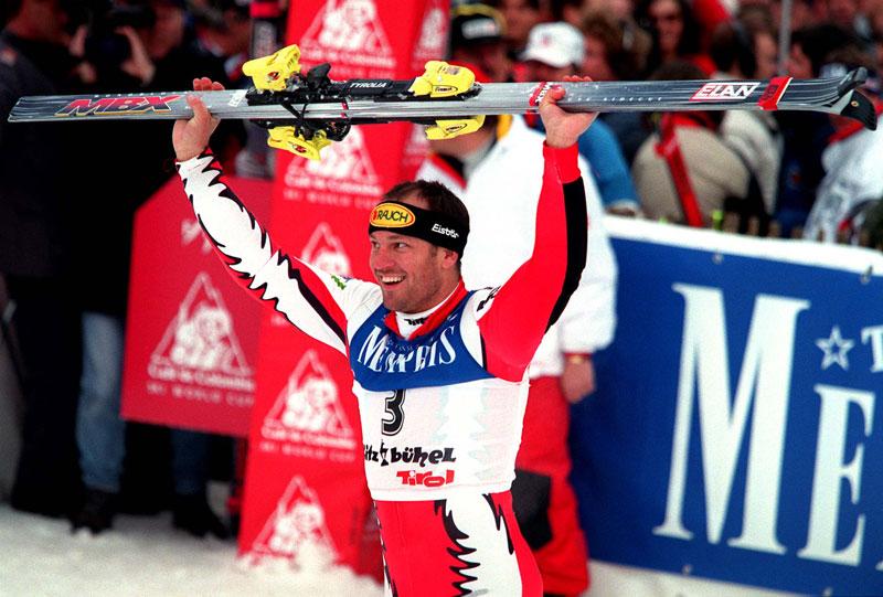Mario Reiter, Slalomsieg In Kitzbühel