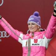 Maria Höfl Riesch, Olympiasiegerin Kombination, Silber Super G, Sotschi