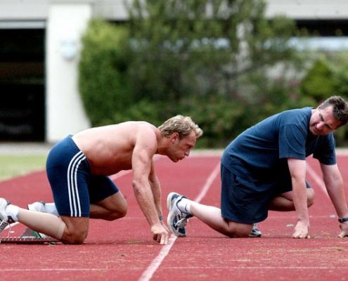 Training Mit Bergmüller
