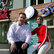 Fototermin Mit Waris Dirie Im Olympiastuetzpunkt Obertauern.