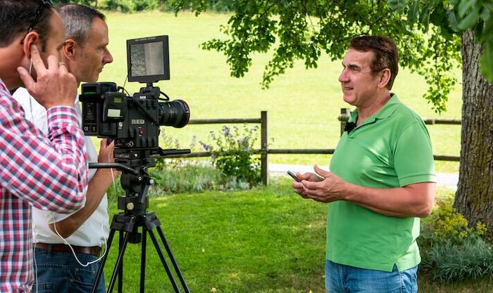 Heinrich Bergmüller im Interview zu richtigem Fitnesstraining und Laktatstufentest.
